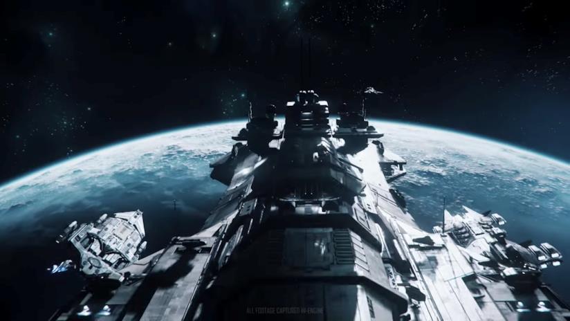Una sequenza di Star Citizen