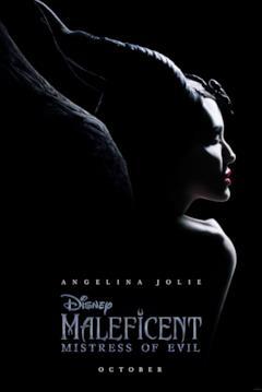 Angelina Jolie è Maleficent nel teaser poster di Mistress of Evil