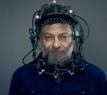 Andy Serkis durante uno shooting