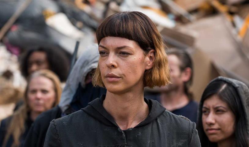 Pollyanna McIntosh nel ruolo di Jadis in The Walking Dead