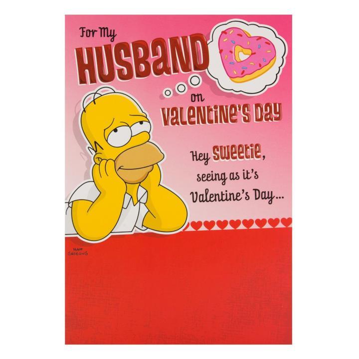 Homer e le dolcezze di San Valentino