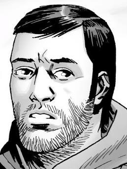 The Walking Dead: Dante nei fumetti della serie