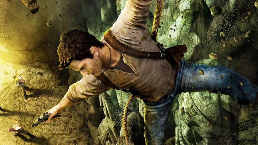 Nathan Drake in azione nel primo capitolo di Uncharted