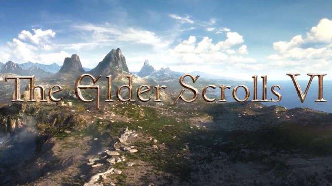 Il logo di The Elder Scrolls VI così come è stato mostrato nel primo teaser