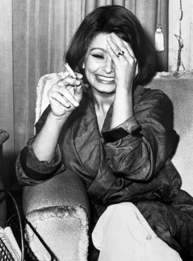 Sophia Loren nel 1962