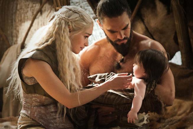 Daenerys e Khal Drogo