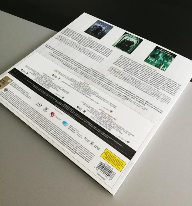 Matrix, retro della trilogia nella Vinyl Edition