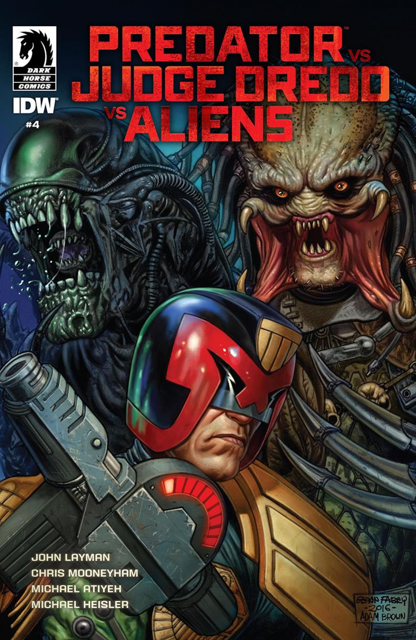 Immagine di Predator, Dredd e Aliens