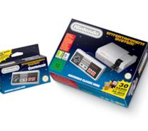 La confezione del Nintendo Classic Mini: NES