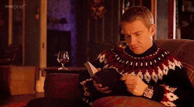 Watson legge un libro