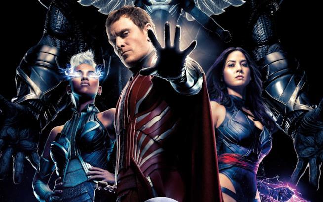 Magneto, Psylocke e Tempesta nel poster di X-Men: Apocalisse