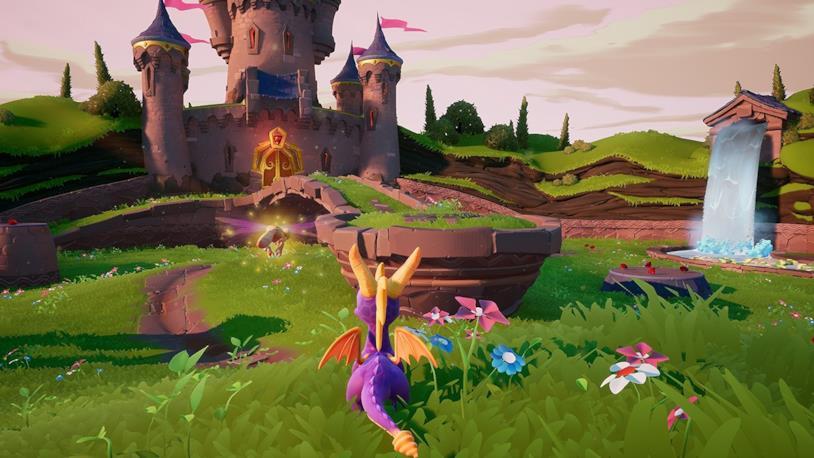 Un'immagine di gioco da Spyro The Dragon tratta da Spyro: Reignited Trilogy