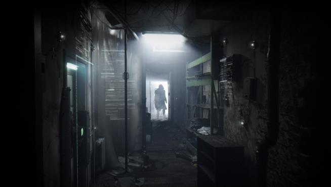 Una misteriosa figura in nero nel trailer di Observer