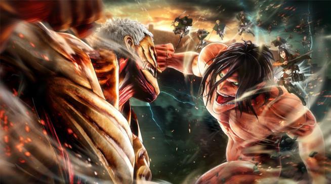 L'Attacco dei Giganti 2 diventa un videogioco per PC e console