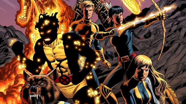 I Nuovi Mutanti protagonisti dei fumetti