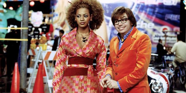 Mike Myers e Beyoncé