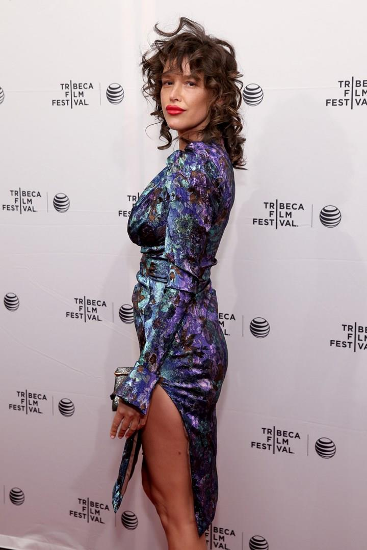 L'attrice e modella Paz de la Huerta