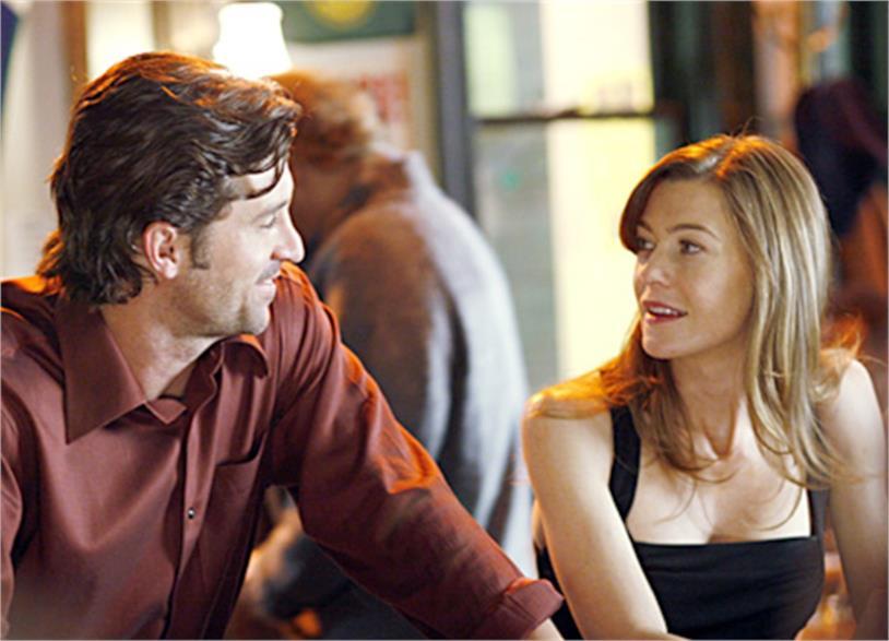 """Patrick Dempsey con """"solo una ragazza in un bar"""""""