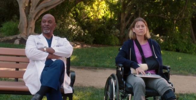 Il discorso di Richard Webber a Meredith Grey