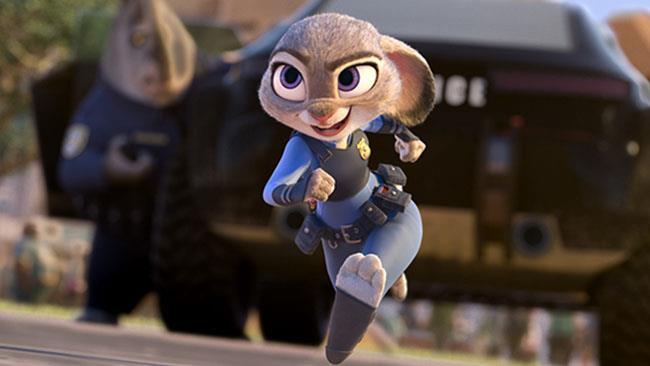 L'agente Judy Hopps di Zootropolis, il film Disney campione di incassi al cinema