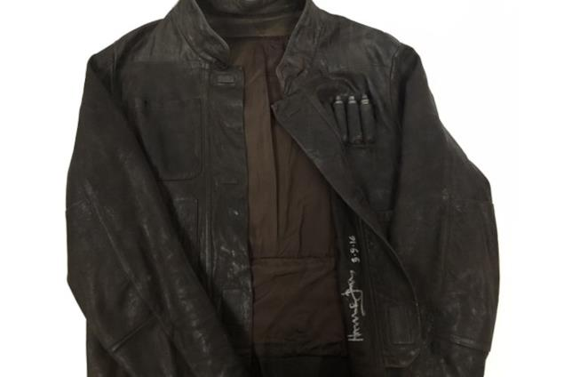 Il giubbotto di Han Solo venduto all'asta