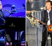 Elton John e Paul McCartney in concerto