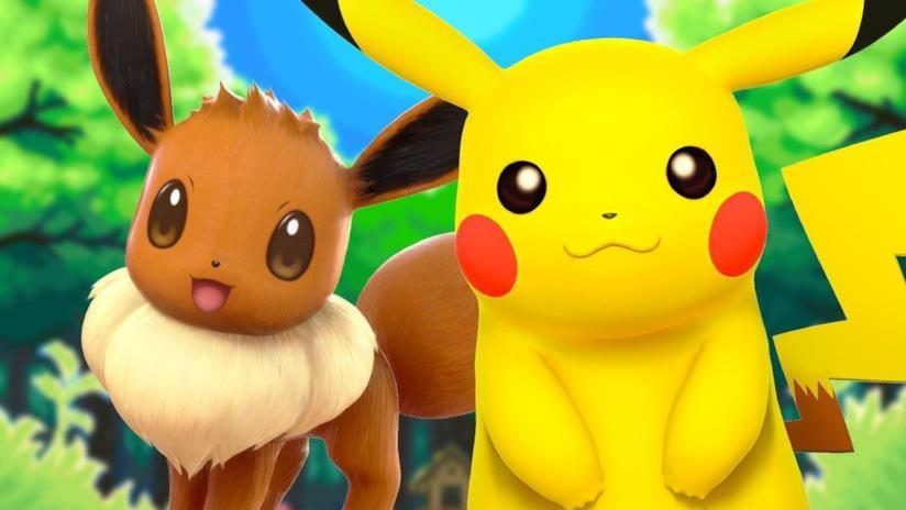 Pikachu e Eevee sono i due starter di Pokémon Let's Go