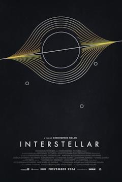 Il buco nero stilizzato con i tre pianeti