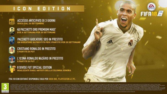Ronaldo Luís Nazário de Lima in FIFA 18