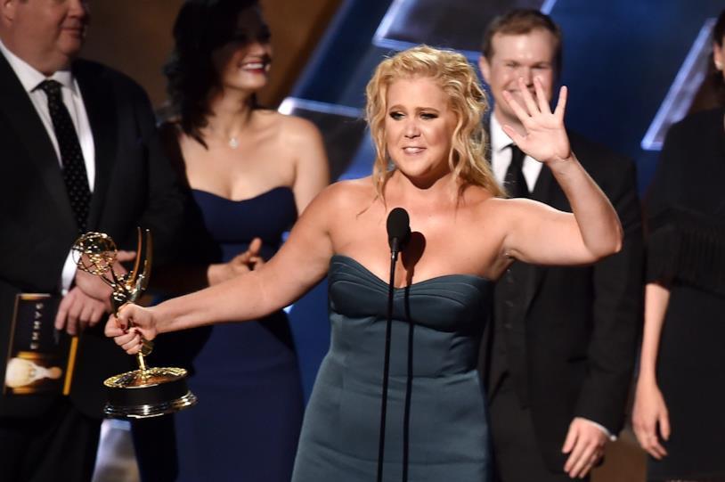Amy Schumer agli Emmy Awards 2016