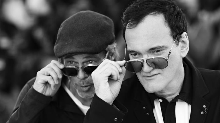 Quentin Tarantino con Brad Pitt a Cannes 2019