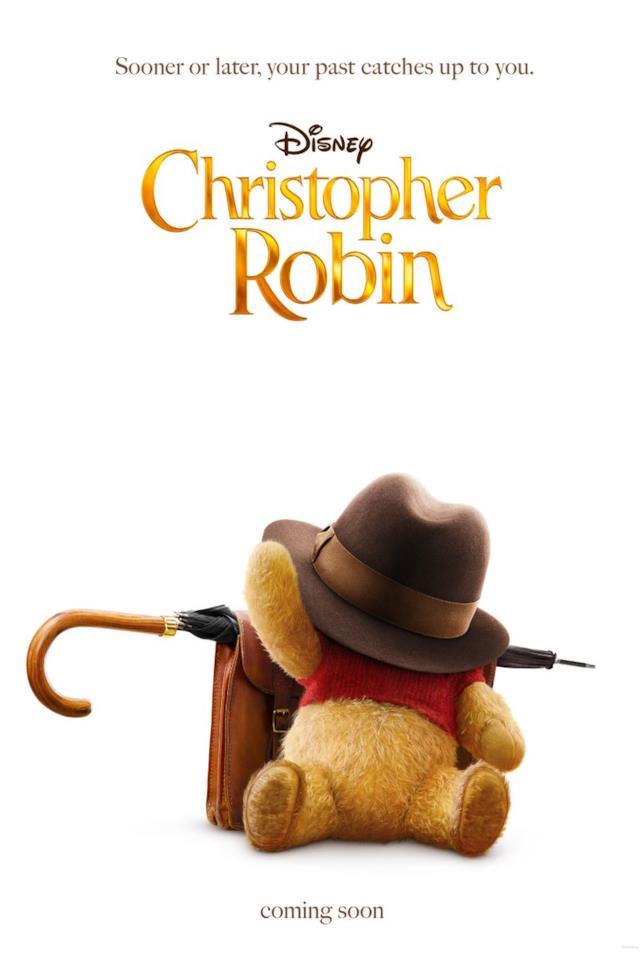 Winnie the Pooh nel teaser poster di Christoper Robin