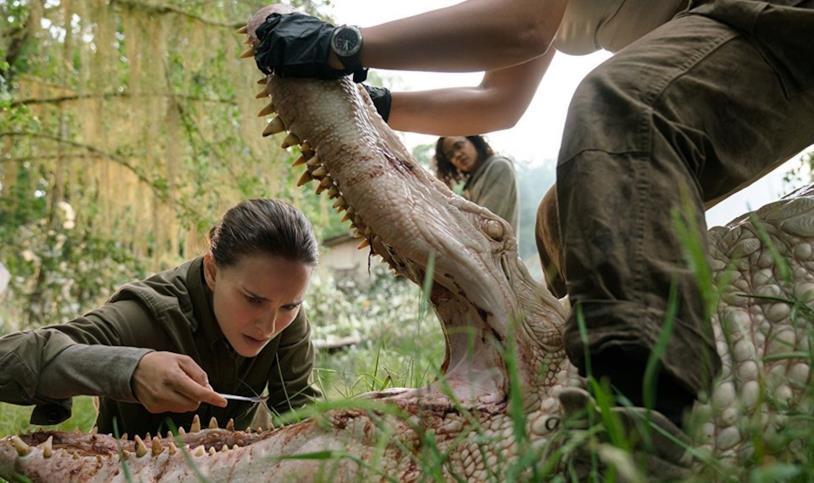 Annientamento, Natalie Portman studia la fauna dell'Area X