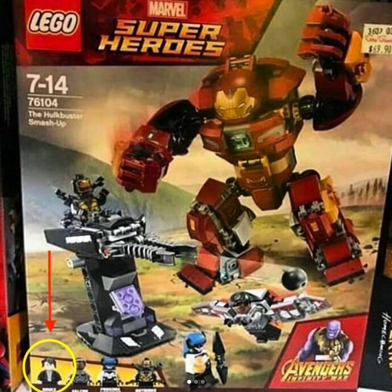 Ecco il set LEGO dedicato alla Hulkbuster