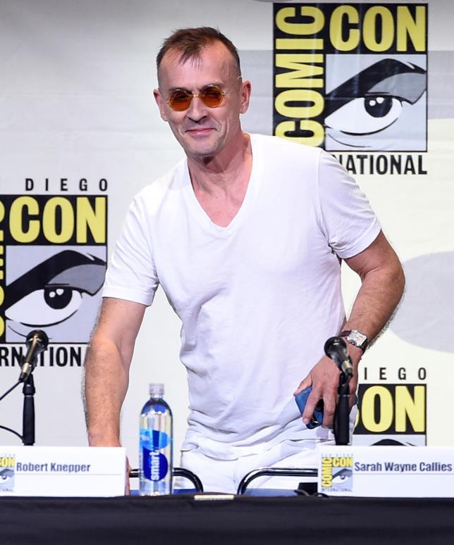 Robert Knepper al san Diego Comic-Con