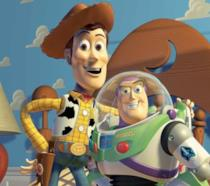 Woody e Buzz di Toy Story doppiati da Tom Hanks e Tim Allen