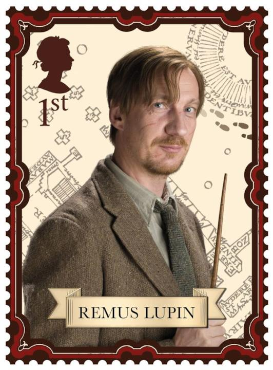 Il francobollo del mago-licantropo Lupin