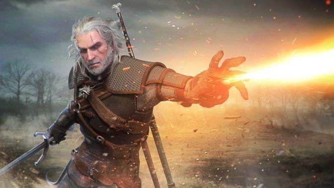 Geralt di Rivia in azione