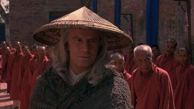 Christopher Lambert è Lord Raiden in Mortal Kombat