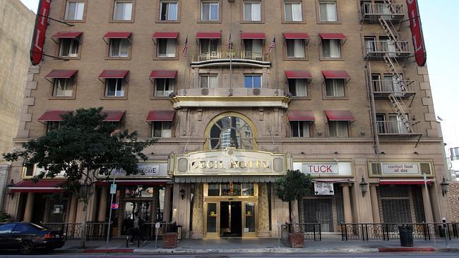 Cecil Hotel di Los Angeles