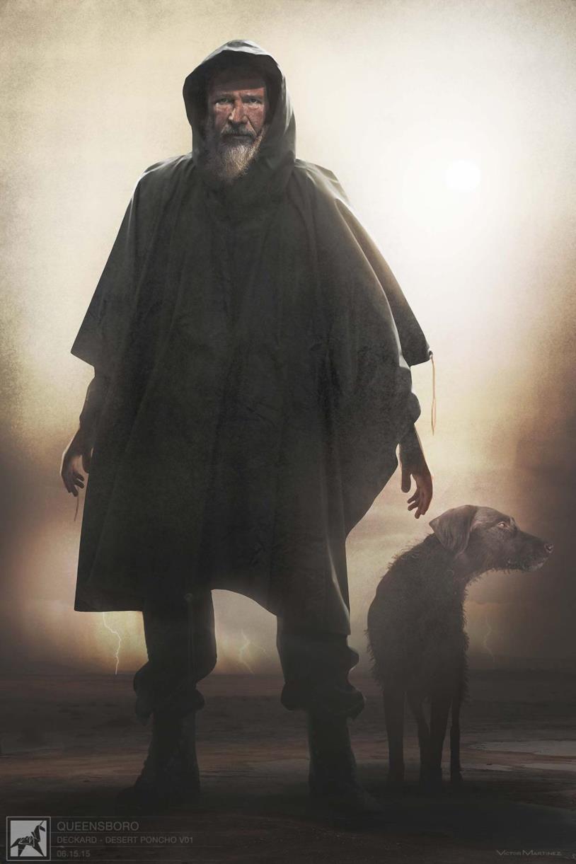 Harrison Ford è l'anziano Rick Deckard