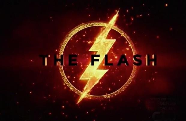 film the flash logo