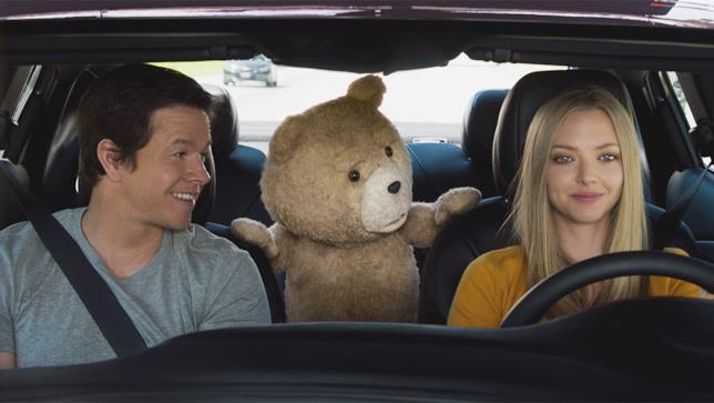 Mark Wahlberg, Seth MacFarlane e Amanda Seyfried