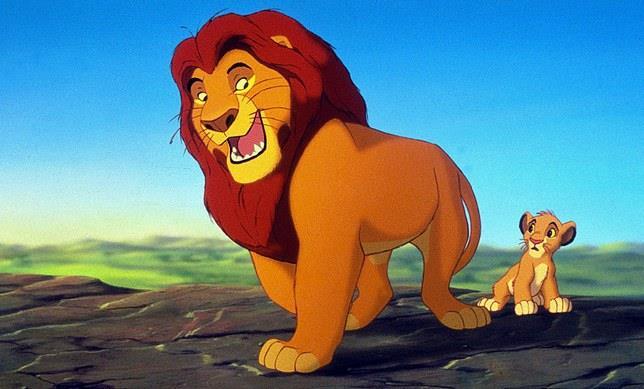 Simon e Pumba ne Il Re Leone