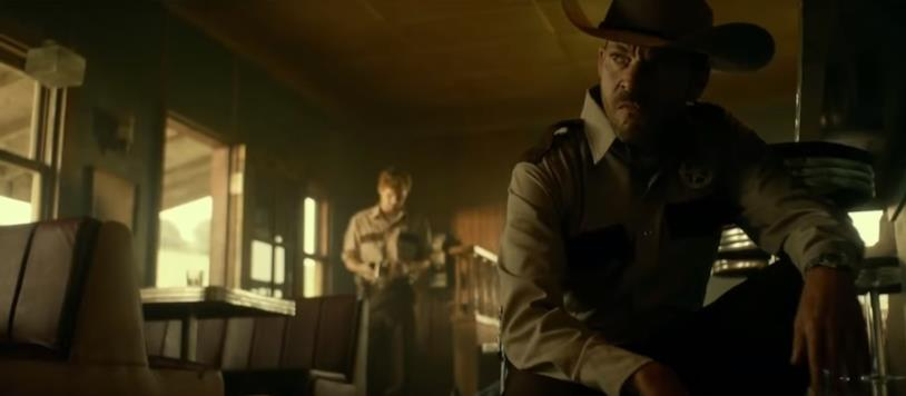 Il texas ranger psicopatico Hal Hartman è interpretato da Stephen Dorff