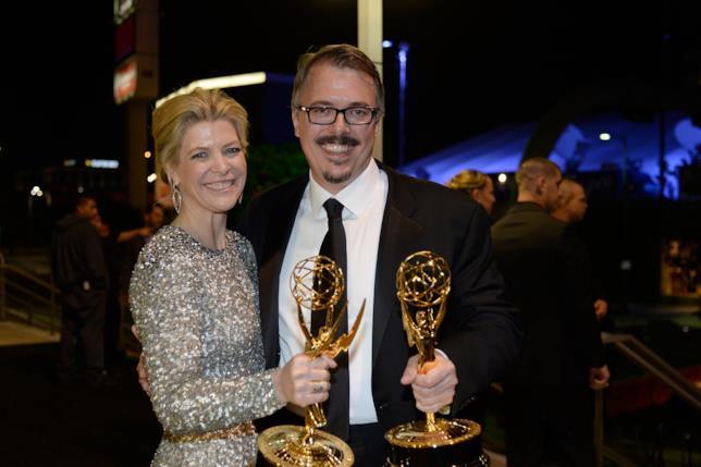 Vince Gilligan e Michelle MacLaren ai Primetime Emmy Awards