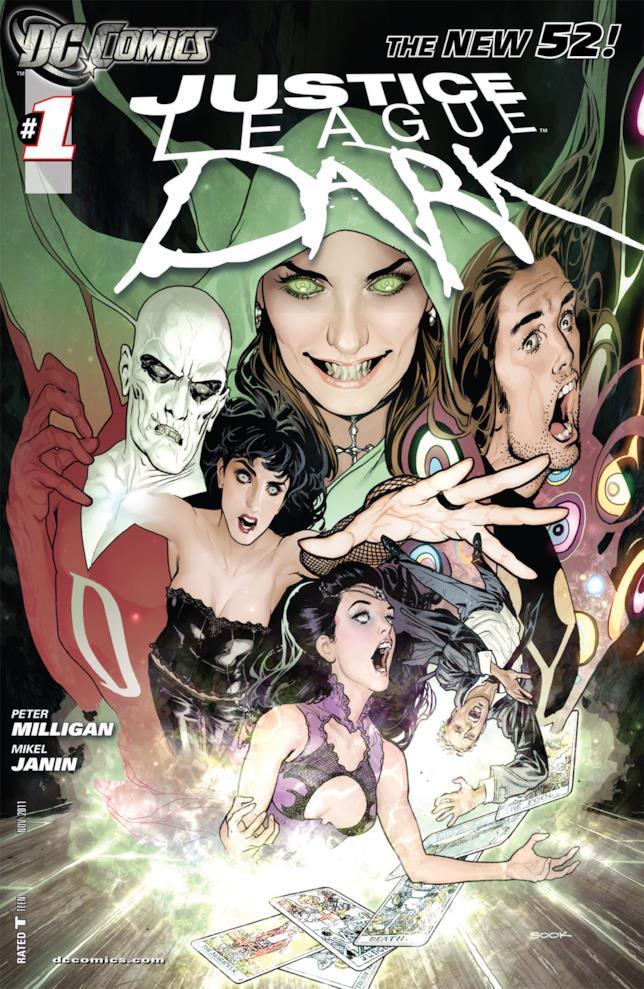 Justice League Dark comics