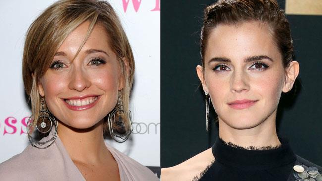 Allison Mack ed Emma Watson