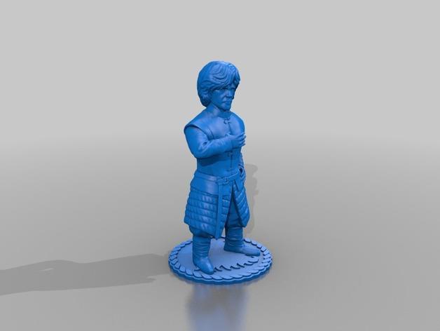 Il modello 3D da stampare di Tyrion