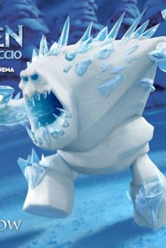 Marshmallow nel character banner di Frozen
